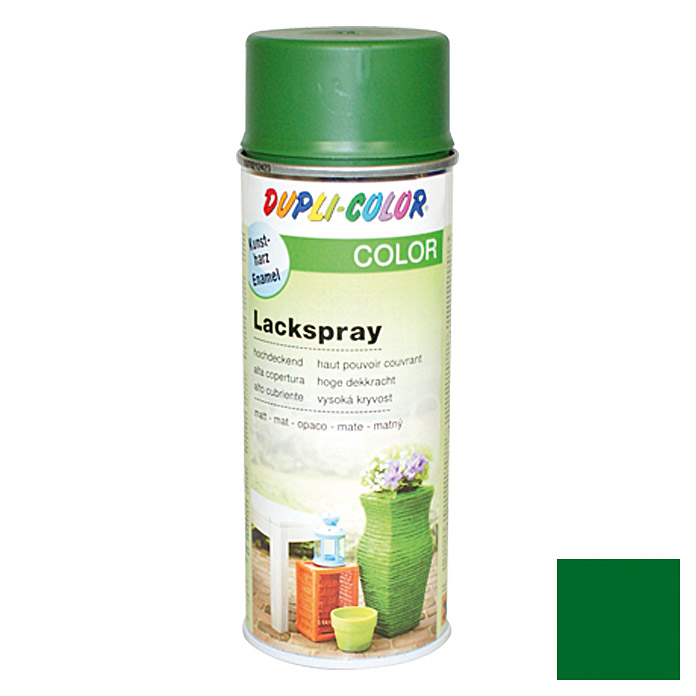 Dupli-Color COLOR Lackspray RAL 6002 (Laubgrün, Matt)