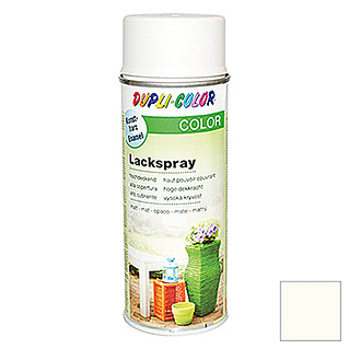 Dupli-Color COLOR Lackspray RAL 9001 (Cremeweiß, Matt, 400 ml)