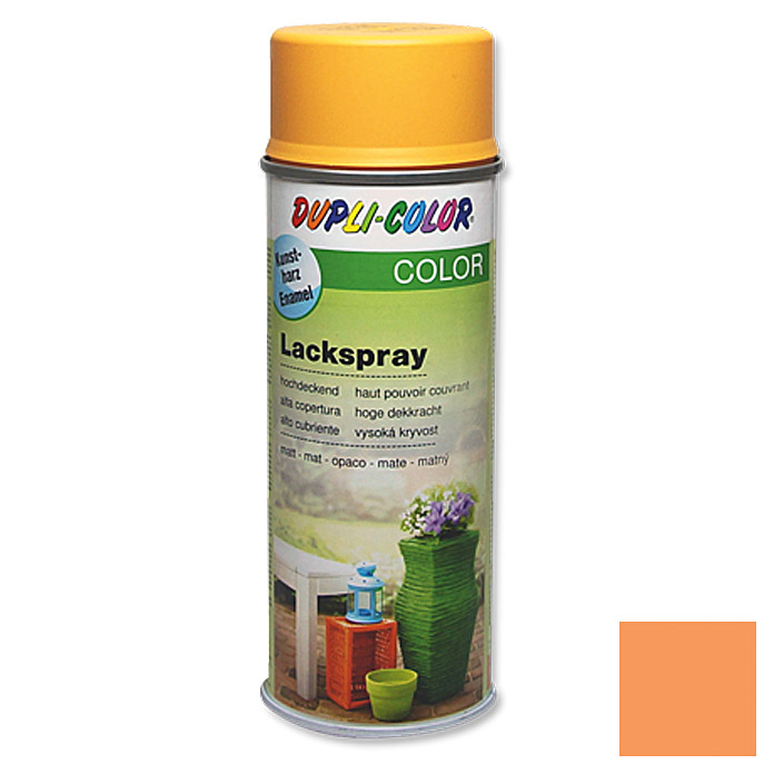 Dupli-Color COLOR Lackspray RAL 1034 (Pastellgelb, Matt)