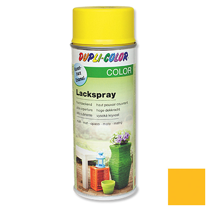 Dupli-Color COLOR Lackspray RAL 1021 (Rapsgelb, Matt)