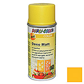Dupli-Color Color Deco Matt Acryllackspray RAL 1021 (Rapsgelb, 150 ml, Matt)