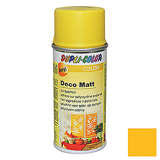 Dupli-Color Color Acryl-Lackspray Deco Matt RAL 1021 (Rapsgelb, 150 ml, Matt)
