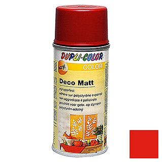 Dupli-Color COLOR Deco Matt Acryllackspray RAL 3000 (Feuerrot, 150 ml, Matt)