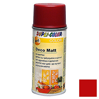 Dupli-Color Color Acryl-Lackspray Deco Matt RAL 3003 (Rubinrot, 150 ml, Matt)