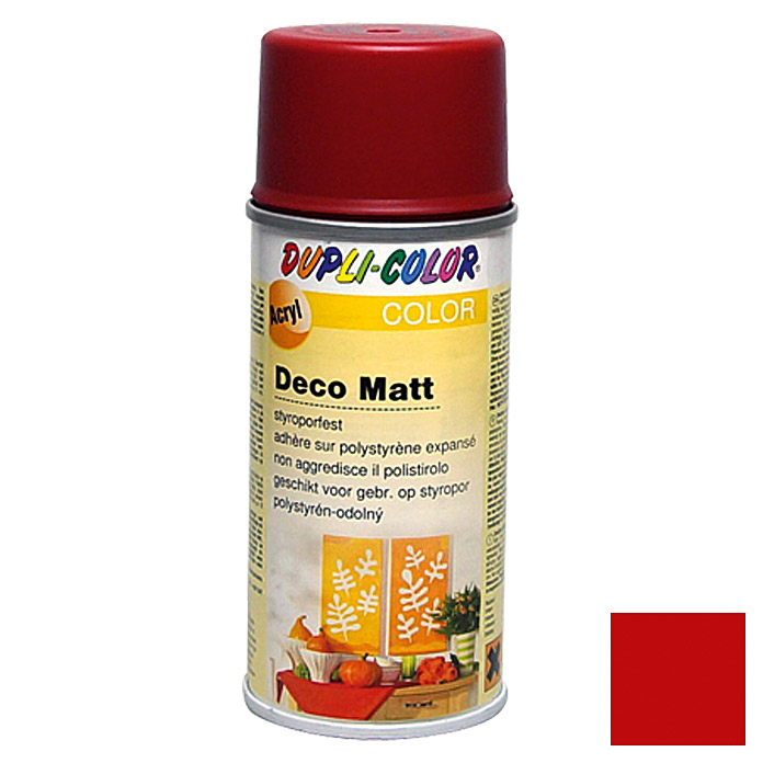 Dupli-Color COLOR Deco Matt Acryllackspray RAL 3003 (Rubinrot, 150 ml)