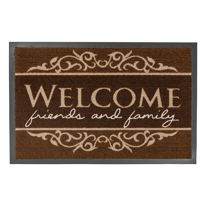 HOMELIKE CA. 50X70cmDES.05 WELCOME BRAU