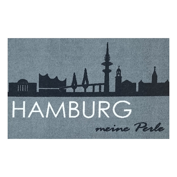 ACTION 40X60 cm  75 HAMBURG SKYLINE GRAU