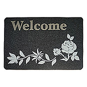 RIPSMATTE WELCOME   RANKE 40X60 cm