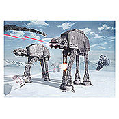 Komar Star Wars Fototapete Battle of Hoth (8-tlg., 368 x 254 cm)