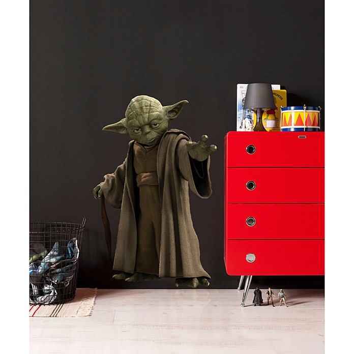 wandtattoo yoda reuniecollegenoetsele. Black Bedroom Furniture Sets. Home Design Ideas