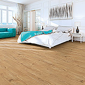 Laminat Home Run Eiche (1.285 x 192 x 8 mm, Landhausdiele)