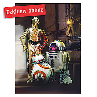 Komar Star Wars Fototapete Three Droids