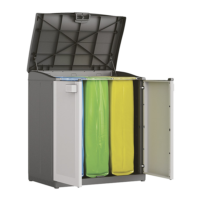 KIS Kunststoffschrank Logico Recycling Compact Store