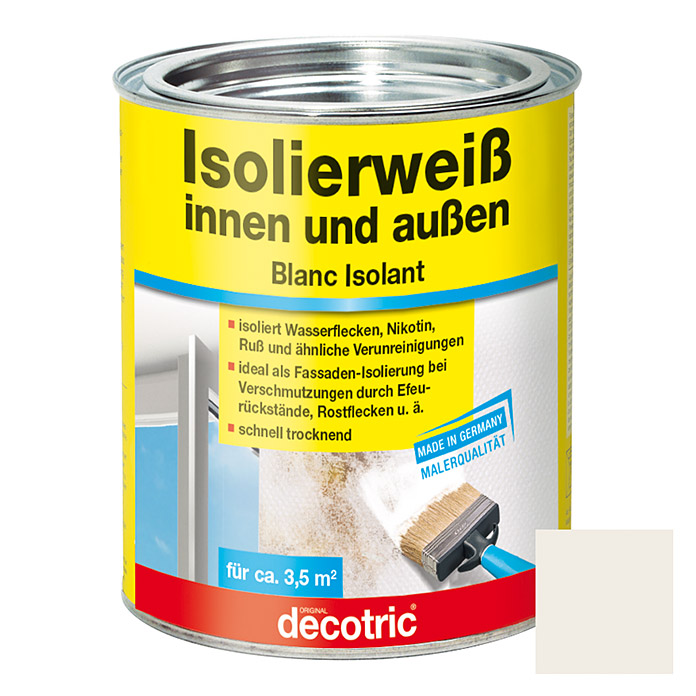 ISOLIERWEISS 750 ml DECOTRIC