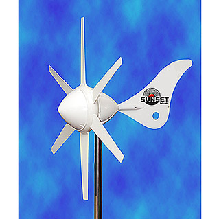 Sunset Windgenerator WG914 (Leistung: Max. 300 W, 12 V)