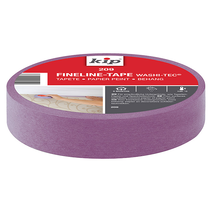 KIP Fineline-Tape Washi-Tec Tapete 209