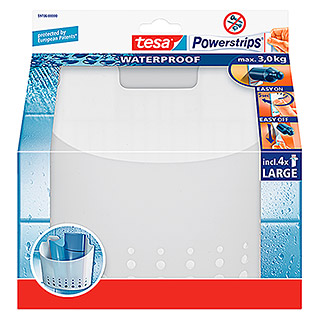 Tesa Powerstrips Waterproof Duschkorb