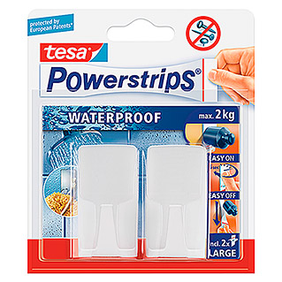 Tesa Powerstrips Waterproof Wandhaken