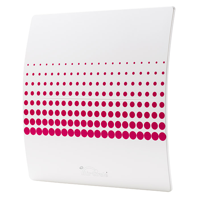Air-Circle Designblende (Dekor: Endless Red, Passend für: Ventilator Premium 125)