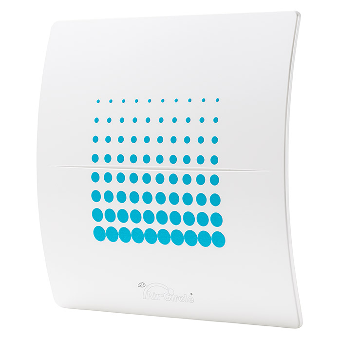 Air-Circle Designblende  (Dekor: Endless Blue, Passend für: Ventilator Premium 125)