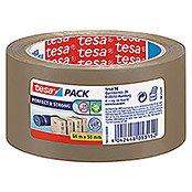 tesa Pack Paketklebeband Solid & Strong (Braun, 66 m x 50 mm)