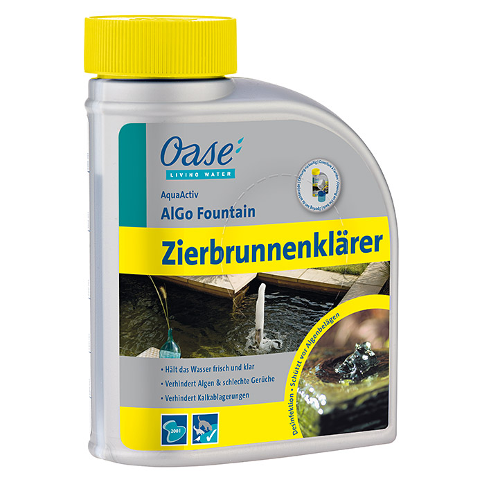 AQUAACTIV ZIER-     BRUNNENKLAR 500 ml  OASE