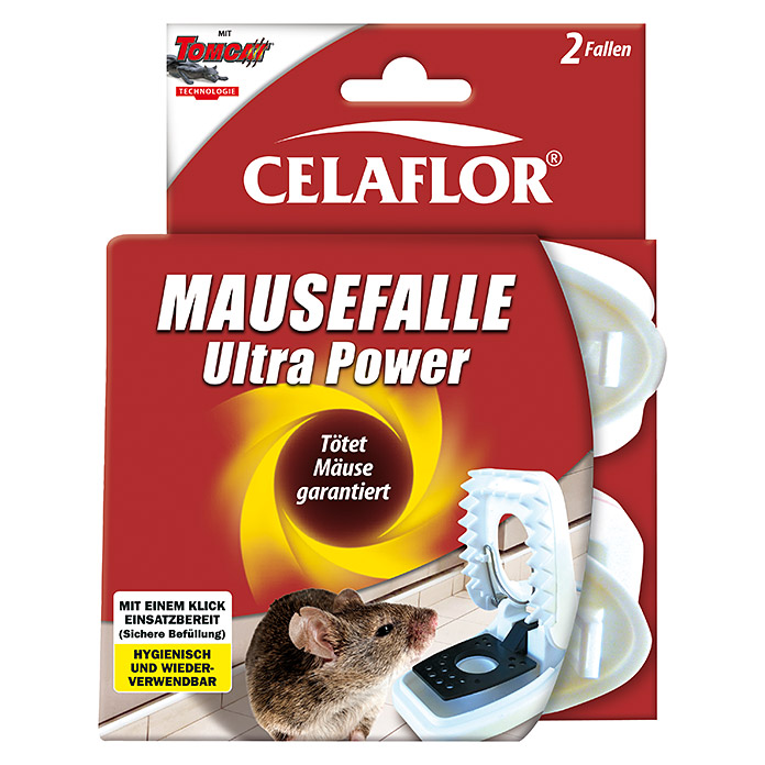 Celaflor Tomcat Mausefalle Ultra Power