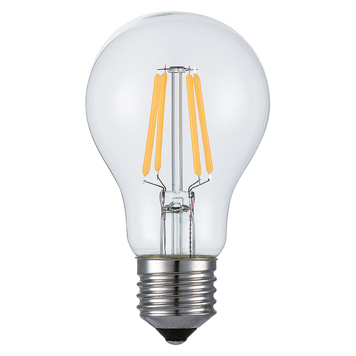 LED CL A 60 6W E27  806Lm FILAMENT KLAR VOLTOLUX