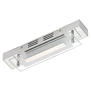 Briloner Splash Plafón LED (6 W, Blanco cálido, 300 x 70 mm)