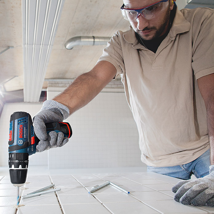 Bosch Professional Accuklopboorschroevendraaier GSB 12V-15 (12 V, Li-ion, Excl. accu, Onbelast toerental: 0 tpm - 1.300 tpm)