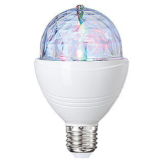 Ledlamp Discobal (3 W, E27, RGB-led)