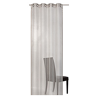 Barbara Becker Home Passion Ösenschal Morning Breeze (140 x 255 cm, 100 % Polyester, Taupe)