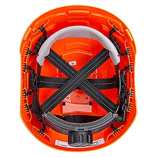 Schutzhelm Ranger (Crash Box, Blau/Orange)