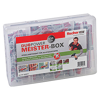 Fischer Meister-Box Dübel-Set Duopower