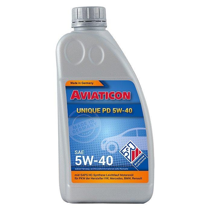 AVIATICON UNIQUE    PD 5W-40, 1 L