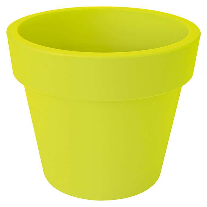 GREEN BASICS TOP PLANTER 40cm LIMEGRUEN