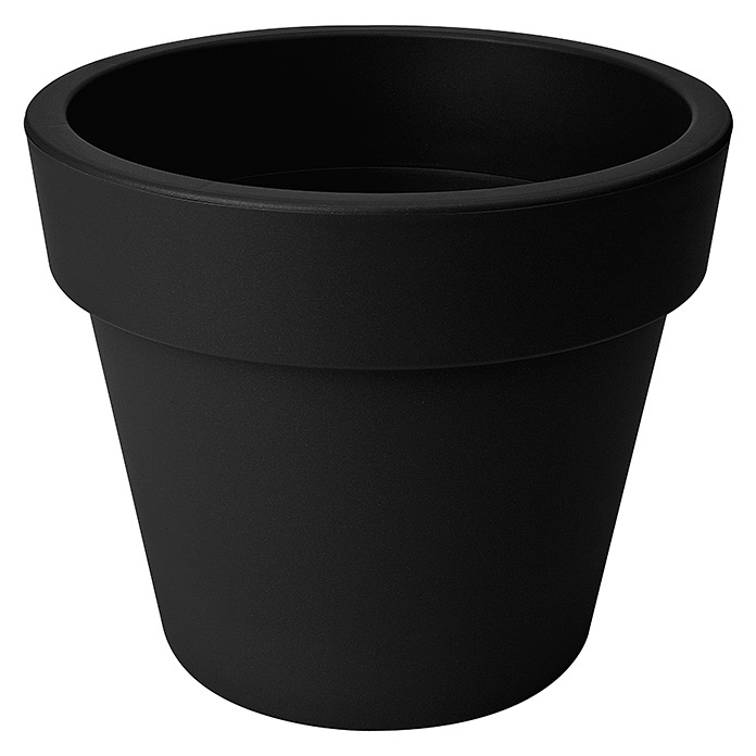 GREEN BASICS TOP PLANTER 40cm SCHWARZ