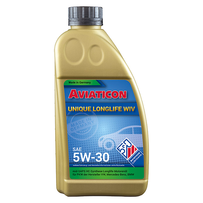 AVIATICON UNIQUE WIV5W-30, 1 L LONGLIFE