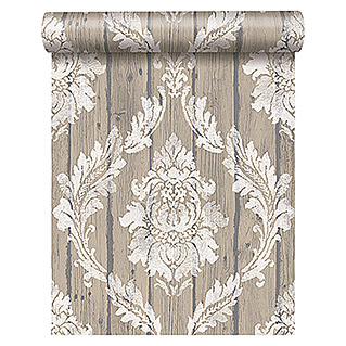 FREUNDIN HOME COLLECTION Vintage Vliestapete  (Beige)
