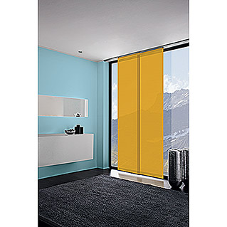 Expo Ambiente Flächenvorhang Basic (Gold, 100 % Polyester, B x H: 60 x 300 cm)
