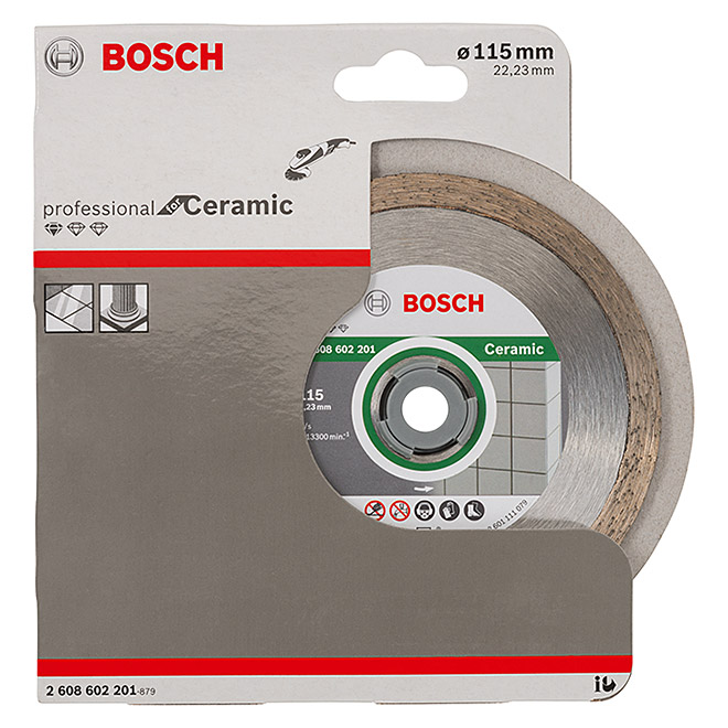 DIAMANT-TS115 mm    STANDARD  CERAMIC   BOSCH