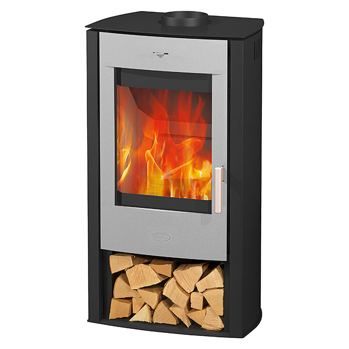 fireplace kaminofen bahia 6 kw raumheizverm gen 108 m schwarz silber 4125 null dced. Black Bedroom Furniture Sets. Home Design Ideas