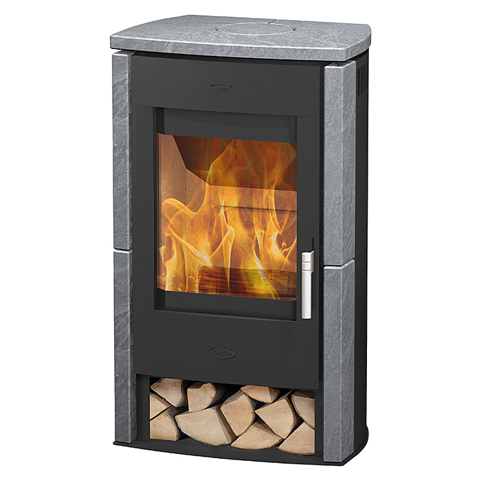fireplace kaminofen brasil 6 kw raumheizverm gen 108 m verkleidung speckstein schwarz. Black Bedroom Furniture Sets. Home Design Ideas