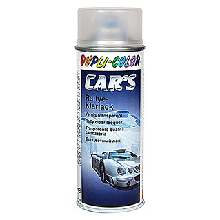 Dupli-Color Klarlack-Spray CAR'S Rallye (Farblos, Matt, 400 ml)