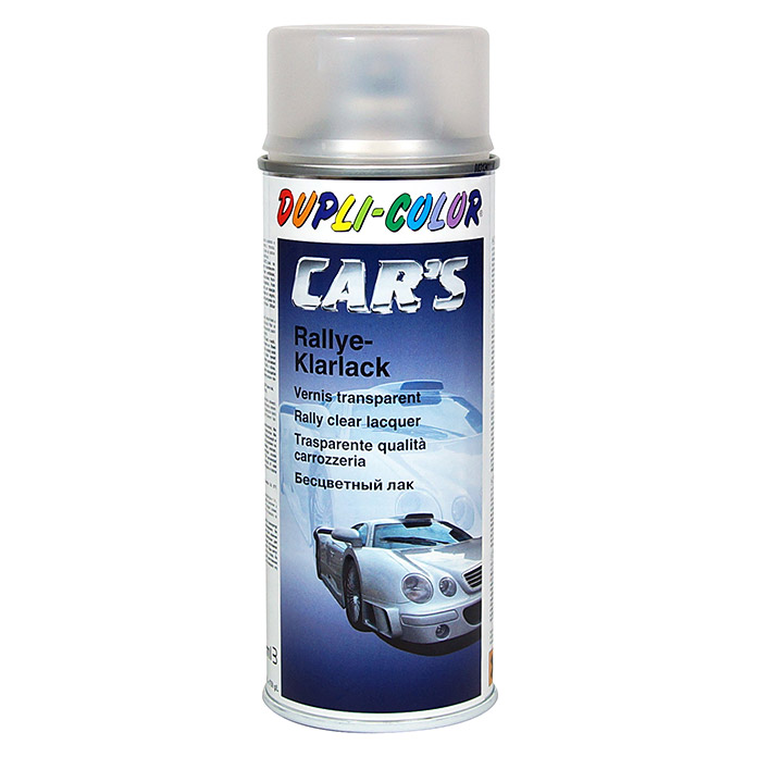 Dupli-Color Klarlack-Spray CAR\'S Rallye (Farblos, Matt, 400 ml ...