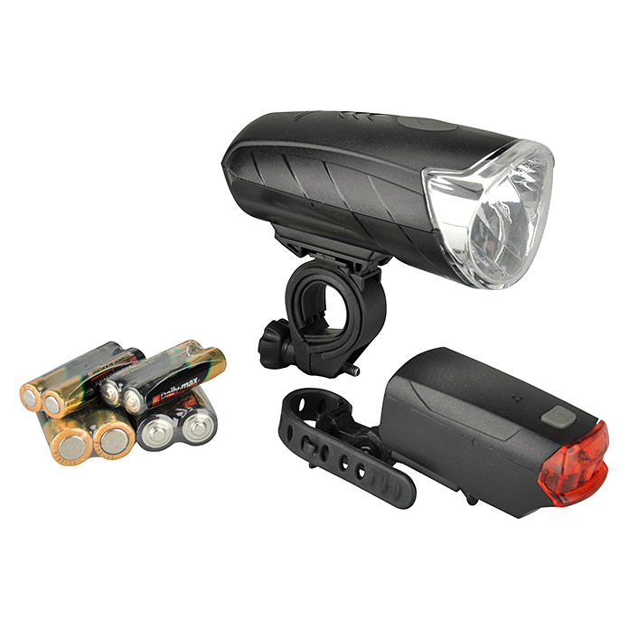FISCHER   BATTERIE  LED-SET 50/25/10 LUX
