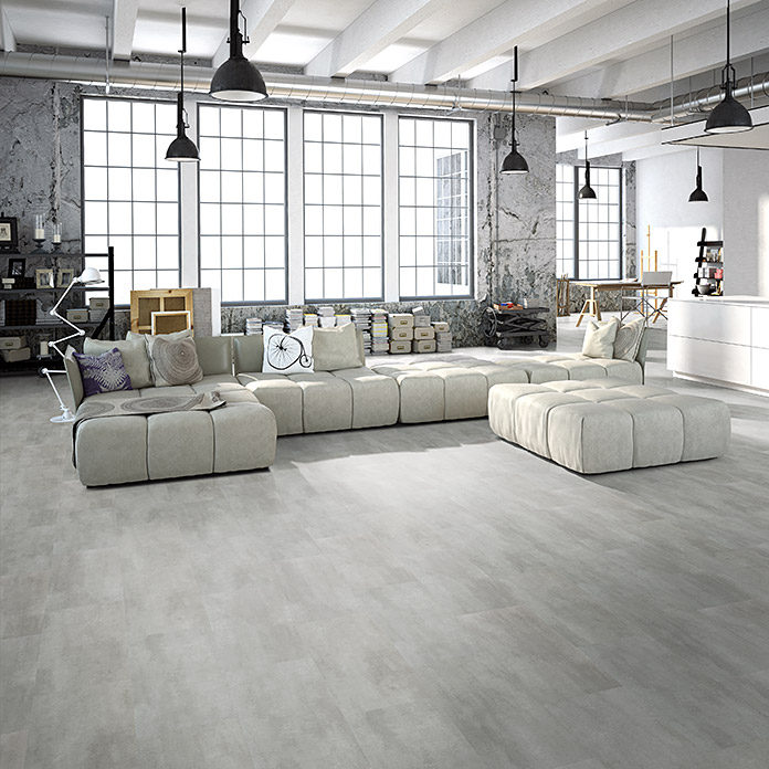 b!design Vinylvloer Tile Varese (609,6 x 304,8 x 4,2 mm, Tegellook)