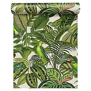 FREUNDIN HOME COLLECTION Paradise Vliestapete (Bunt, Motiv, Dschungel, 10,05 x 0,53 m)