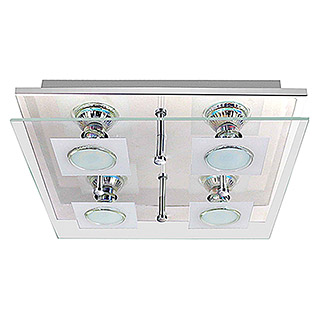 Tween Light LED-Deckenleuchte Cara (4 x 3 W, GU10, Warmweiß, 28 x 28 cm)