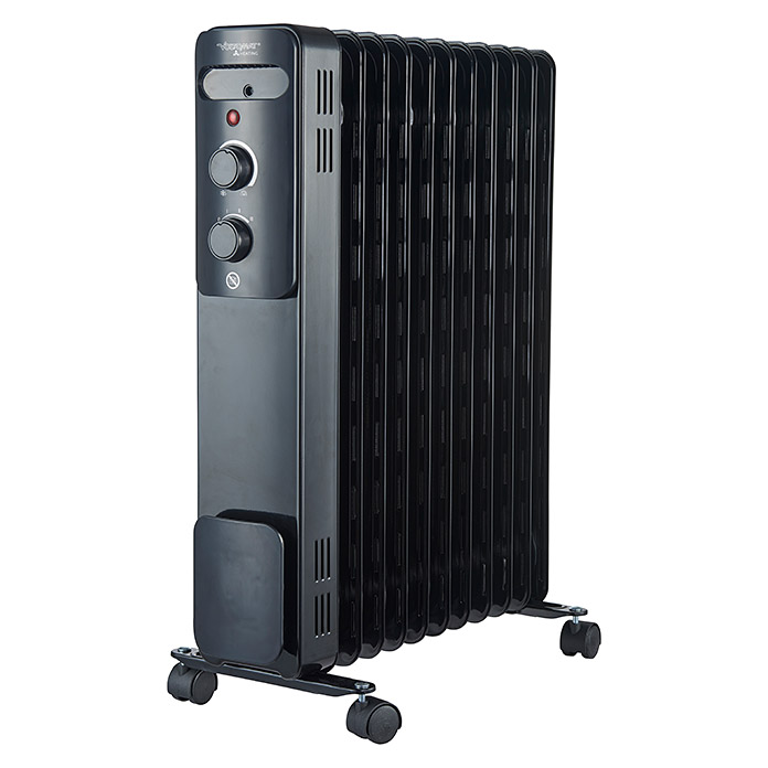 Voltomat HEATING Ölradiator  (Schwarz, 2.500 W)